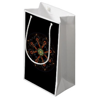 Mandala - 0013 - The Raven and the Sea and Stars P Small Gift Bag