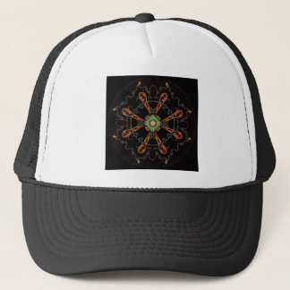 Mandala - 0013 - The Raven and the Sea and Stars P Trucker Hat