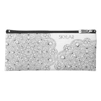 Mandala 010617 Adult Colouring Fun Hobby Crafts Pencil Case