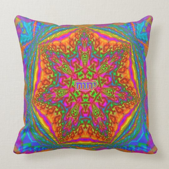 mandala 1 27 2014 throw pillow
