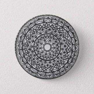 mandala 2 inch round button