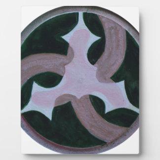 Mandala 503 plaque