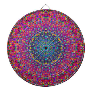 Mandala 7 Color Version A Dartboard