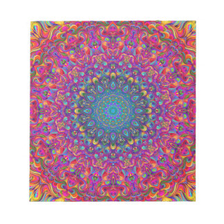 Mandala 7 Color Version A Notepad