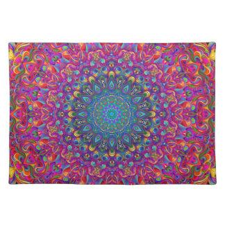 Mandala 7 Color Version A Placemat