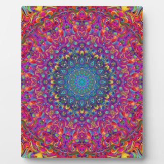 Mandala 7 Color Version A Plaque