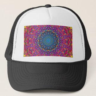 Mandala 7 Color Version A Trucker Hat