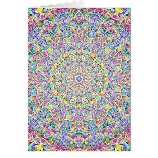 Mandala 7 Color Version Z Card