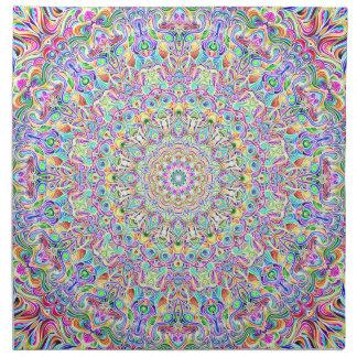 Mandala 7 Color Version Z Napkin