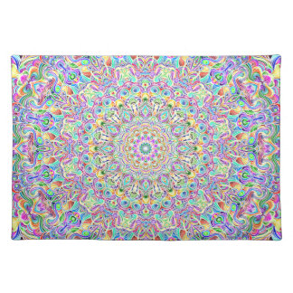 Mandala 7 Color Version Z Placemat