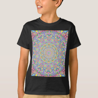 Mandala 7 Color Version Z T-Shirt