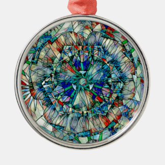 mandala action metal ornament