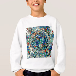 mandala action sweatshirt