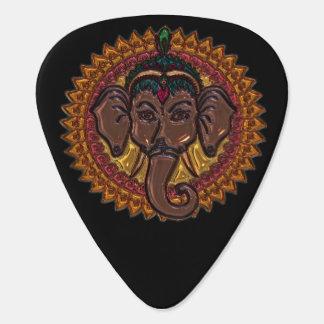Mandala Adorable Elephant Metallizer Guitar Pick
