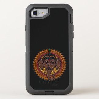 Mandala Adorable Elephant Metallizer OtterBox Defender iPhone 8/7 Case