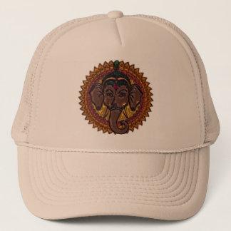 Mandala Adorable Elephant Metallizer Trucker Hat
