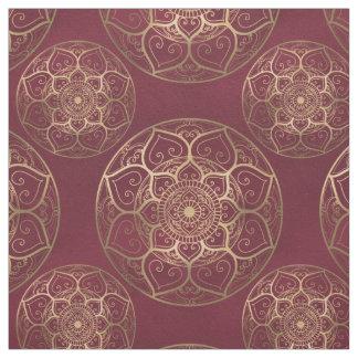 Mandala Amaranth, Fabric