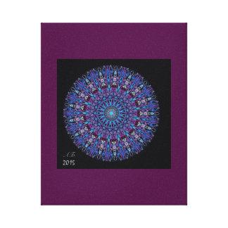 "Mandala ""Amethyst "" Canvas Print"