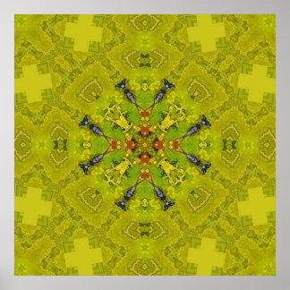 Mandala 'Apple' Poster