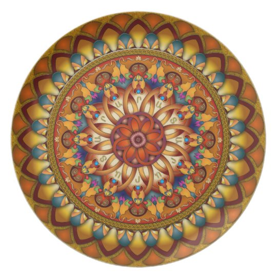 Mandala Ararat V1 Decorative Plate