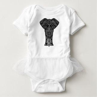 Mandala Art Baby Bodysuit