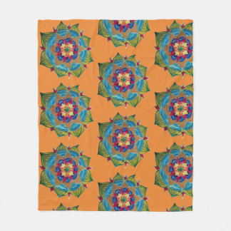 Mandala Art Fleece Blanket