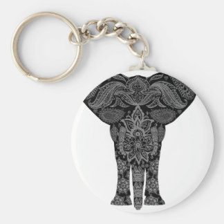 Mandala Art Keychain
