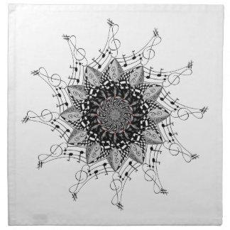 Mandala Art Napkin