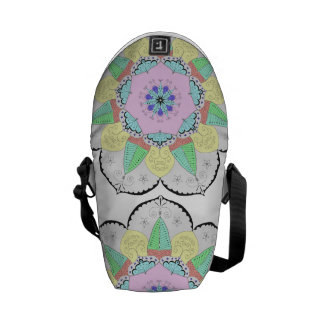 Mandala Art Patterns Designs Yoga Floral flower om Commuter Bag