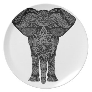 Mandala Art Plate