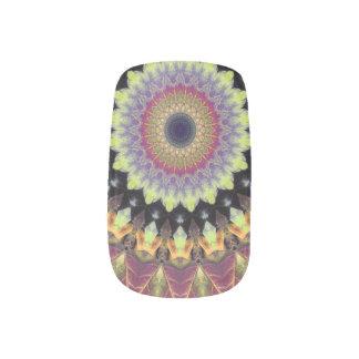 Mandala Autumn Minx Nail Art