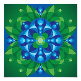 Mandala Awakening Photographic Print