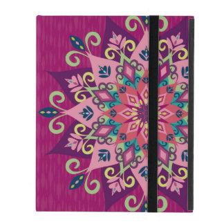 Mandala Bloom iPad Cases
