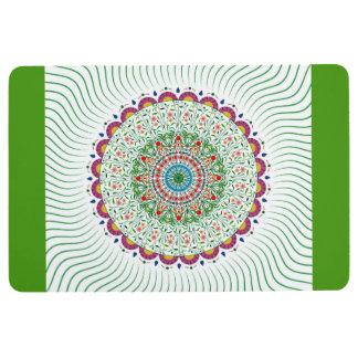 MANDALA BOHEMIAN PRINT, Multicolor Floor Mat