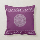 Mandala Breathe Throw Pillow