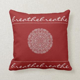 Mandala Breathe Throw Pillow