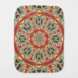 Mandala Burp Cloth