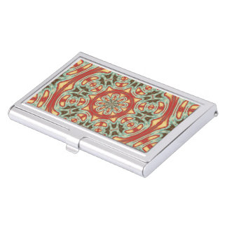 Mandala Business Card Holder