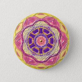 "Mandala button ""King OF Healing """
