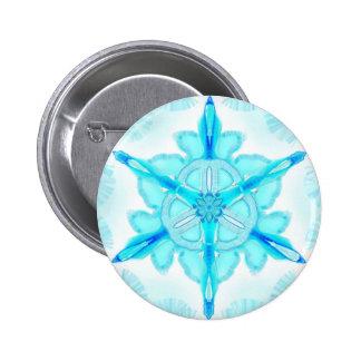 "Mandala button ""turquoise 1 """