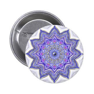 "Mandala button ""violet 2 """