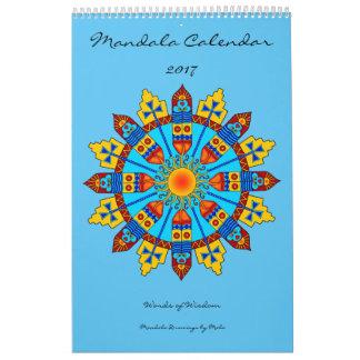 Mandala Calendar 2017 Words of Wisdom