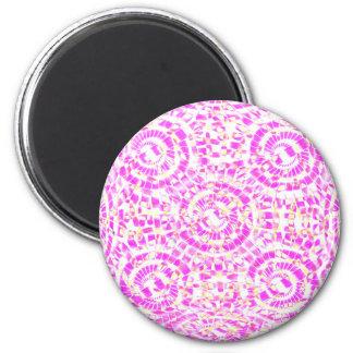 Mandala Candy 2 Inch Round Magnet