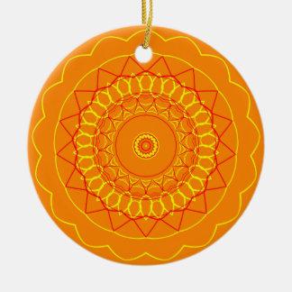 Mandala Ceramic Ornament