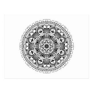 Mandala Circle Postcard