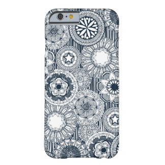 mandala cirque indigo white barely there iPhone 6 case