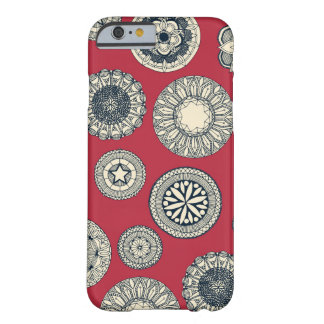mandala cirque spot red barely there iPhone 6 case