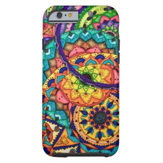 Mandala Collage Tough iPhone 6 Case