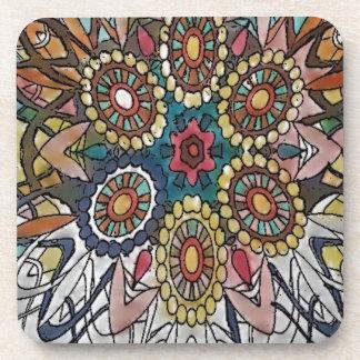 Mandala Coloring Page Gifts Drink Coaster