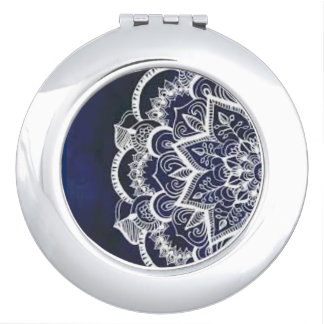 Mandala Compact 2 Mirror For Makeup